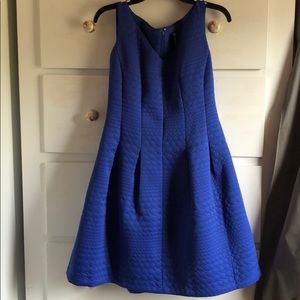 Lord and Taylor Royal Blue Cocktail Dress